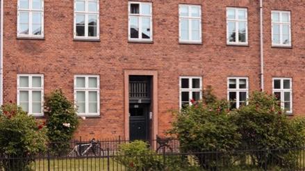 Bygning beliggende på Ågade tilhørende andelsboligforeningen Ågade 136 m.fl. i 2200 København N