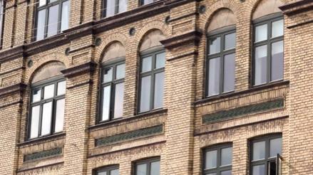 Bygning beliggende på Smallegade tilhørende andelsboligforeningen Smallegade 54 i 2000 Frederiksberg