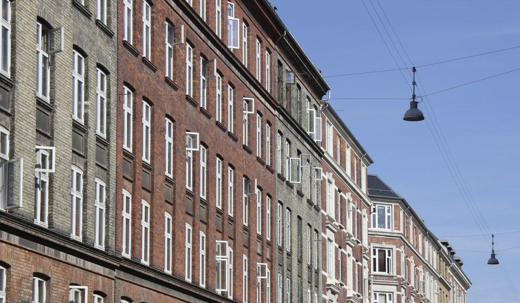 Flot renoveret andelsboligforeninger i København
